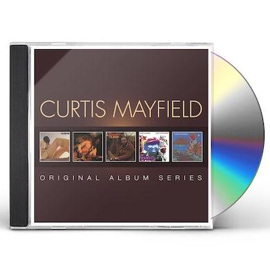 Curtis Mayfield ORIGINAL ALBUM SERIES CD