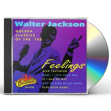 Walter Jackson FEELINGS: GOLDEN CLASSICS EDITION CD