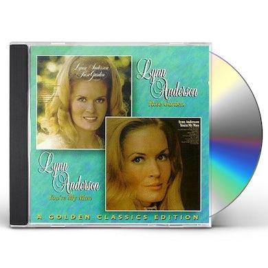 Lynn Anderson ROSE GARDEN YOU'RE MY MAN CD