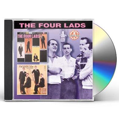 Four Lads BREEZIN' ALONG / ON THE SUNNY SIDE CD