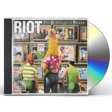 Riot PRIVILEGE OF POWER CD