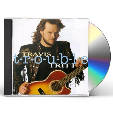Travis Tritt T-R-O-U-B-L-E CD