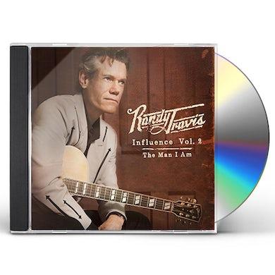 Randy Travis INFLUENCE 2: THE MAN I AM CD