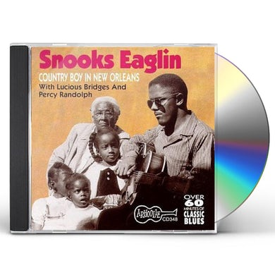 Snooks Eaglin COUNTRY BOY DOWN IN NEW ORLEANS CD