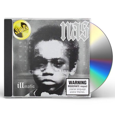 Nas ILLMATIC: PLATINUM (GOLD SERIES) CD