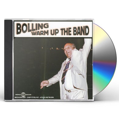 Claude Bolling  WARM UP THE BAND CD