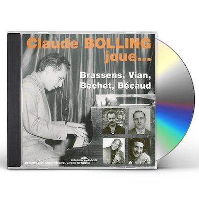 Claude Bolling  PLAYS BRASSENS BECHET VIAN BECAUD CD