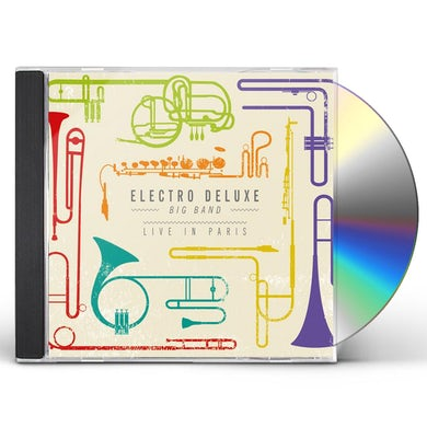 Electro Deluxe LIVE IN PARIS CD