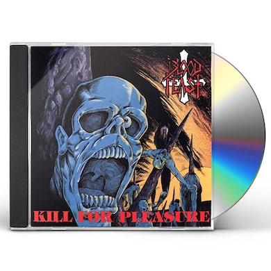 Blood Feast KILL FOR PLEASURE / FACE FATE CD