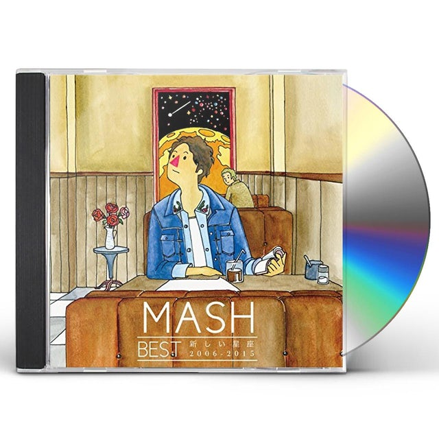Mash BEST ATARASHII SEIZA 2006-2015 CD