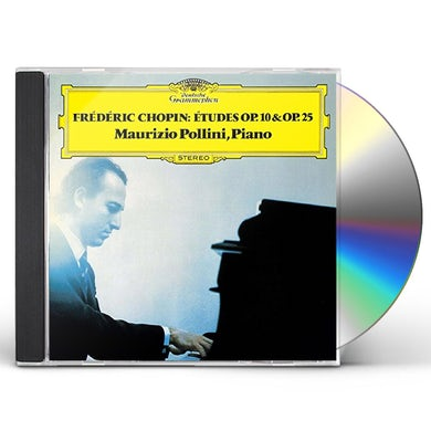 Maurizio Pollini CHOPIN: ETUDES OP. 10 & OP. 25 CD