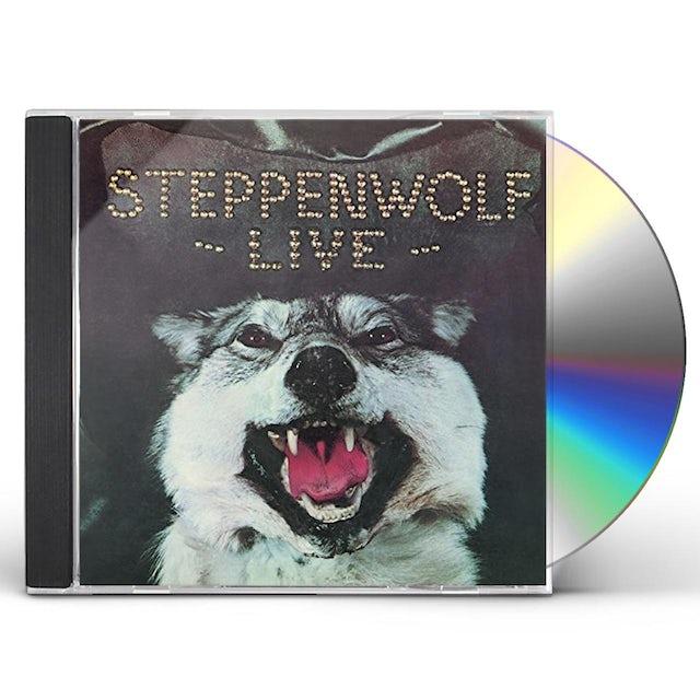 LIVE STEPPENWOLF CD