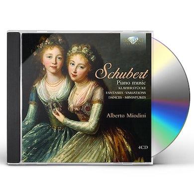 Schubert PIANO MUSIC CD
