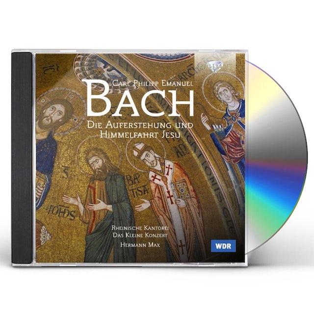J.S. Bach DIE AUFERSTUHUNG UND HIMMELFAHRT JESU CD