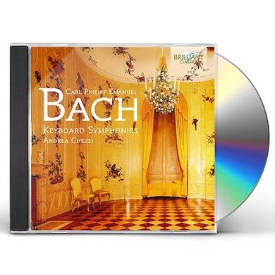 C.P.E. Bach KEYBOARD SYMS CD