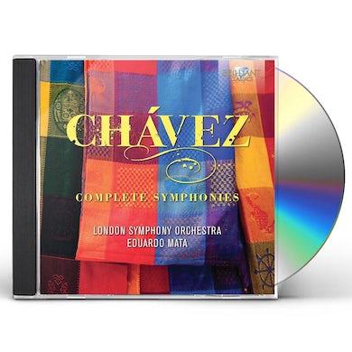 London Symphony Orchestra CHAVEZ: COMPLETE SYMPHONIES CD