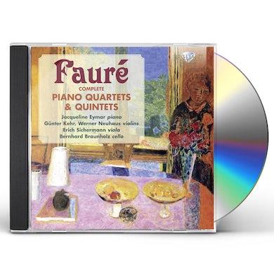 Faure COMP PIANO QUARTETS & QUINTETS CD