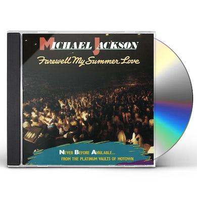 Michael Jackson FAREWELL MY SUMMER LOVE CD