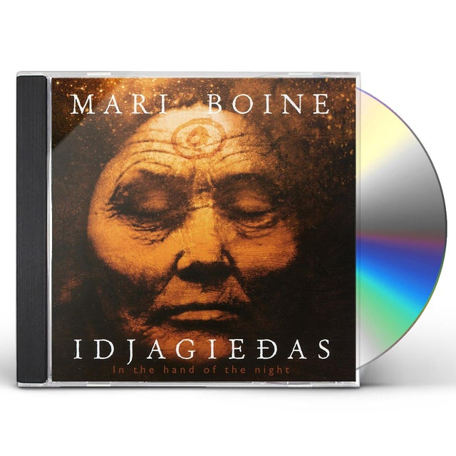 Mari Boine IN THE HAND OF THE NIGHT CD