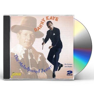 Danny Kaye MALADJUSTED JESTER ON SCREEN & RADIO CD