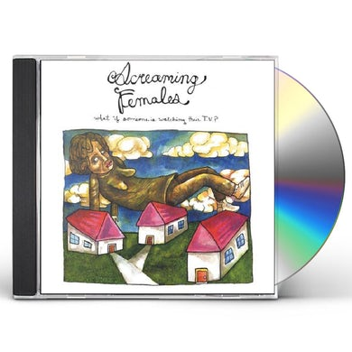 Screaming Females WHAT IF SOMEONE IS WATCHING THEIR TV CD