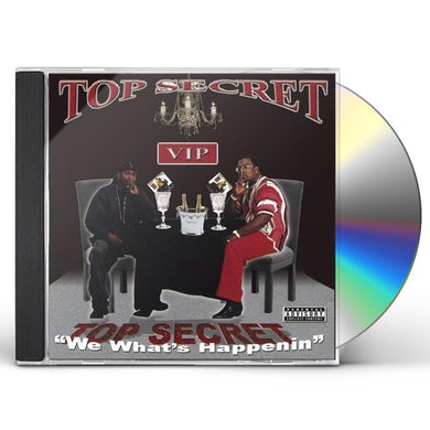 Top Secret WE WHAT'S HAPPENIN CD