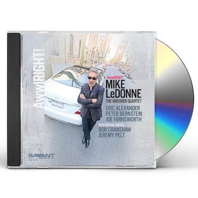 Mike Ledonne AWWLRIGHT CD