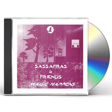 Sassafras FREINDS MAGIC HAPPENS CD