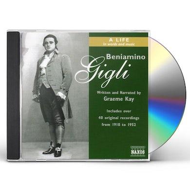 Beniamino Gigli LIFE IN WORDS & MUSIC CD