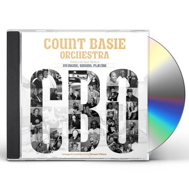 Count Basie Orchestra SWINGING SINGING PLAYING CD