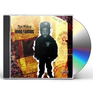 Fes Taylor HOOD FAMOUS CD