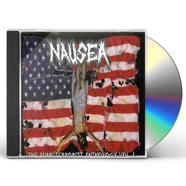 Nausea PUNK TERRORIST ANTHOLOGY 1 CD