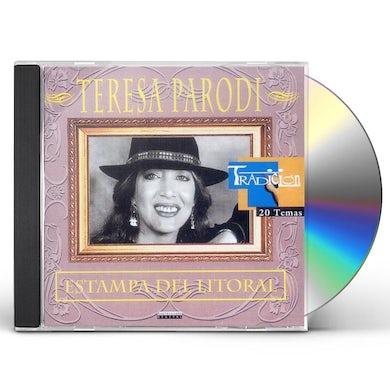 Teresa Parodi ESTAMPA DEL LITORAL CD