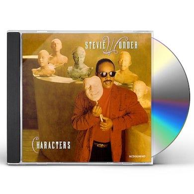 Stevie Wonder  CHARACTERS CD