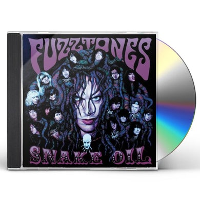 The Fuzztones SNAKE OIL CD