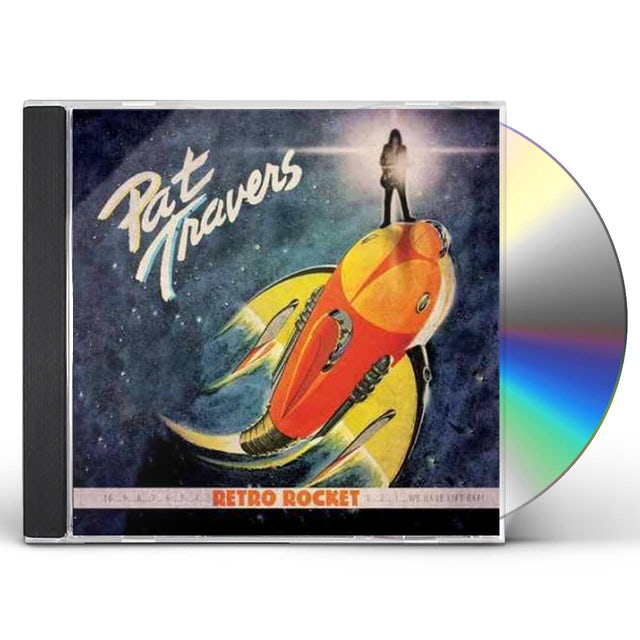 Pat Travers RETRO ROCKET CD