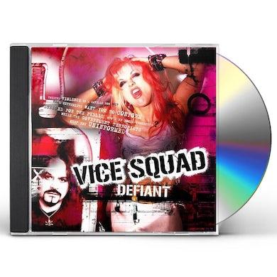 Vice Squad DEFIANT CD