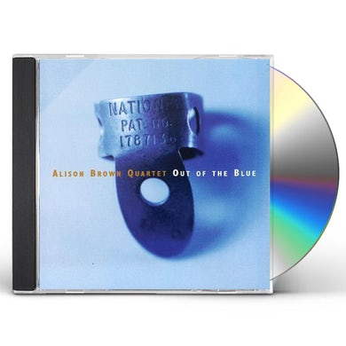 Alison Brown OUT OF THE BLUE CD