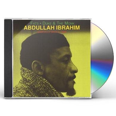 Abdullah Ibrahim FATS DUKE & MONK CD