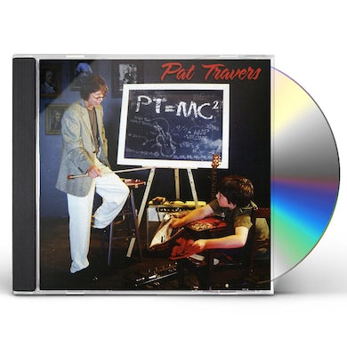 Pat Travers PT=MC2 CD