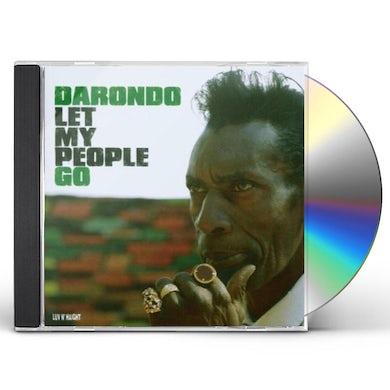 Darondo LET MY PEOPLE GO CD