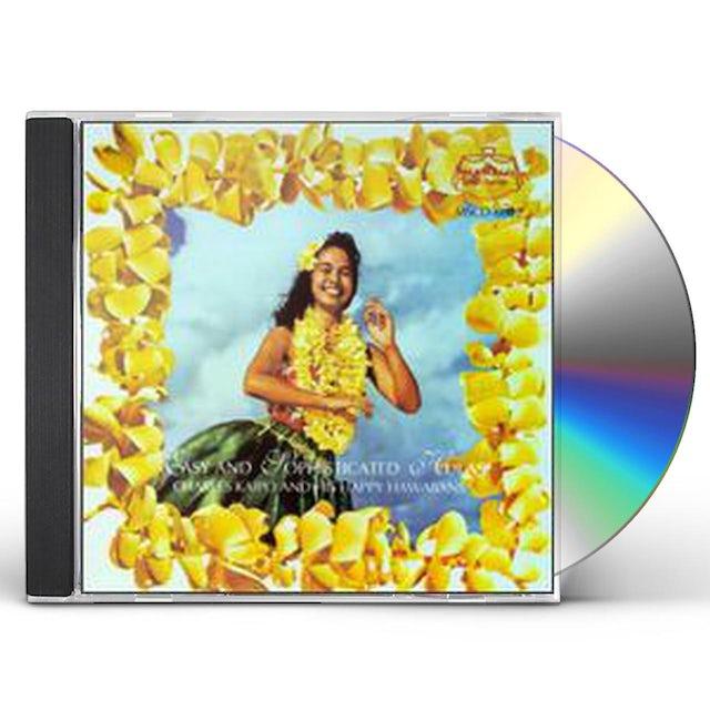 Charles Kaipo EASY & SOPHISTICATED HULAS CD