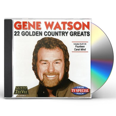 Gene Watson 22 GOLDEN COUNTRY GREATS CD