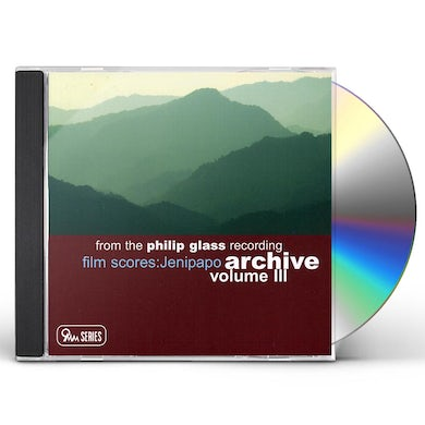 FROM THE PHILIP GLASS RECORDING ARCHIVE 3 CD