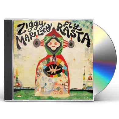 Ziggy Marley FLY RASTA CD