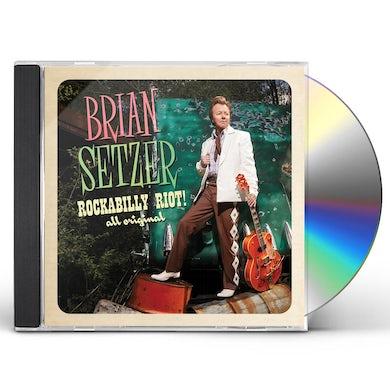 Brian Setzer ROCKABILLY RIOT ALL ORIGINAL CD