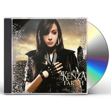 Kenza Farah AVEC LE COEUR CD