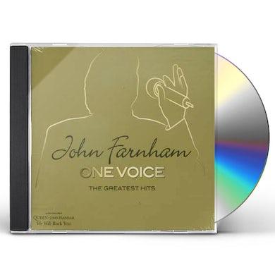 John Farnham ONE VOICE: THE GREATEST HITS CD