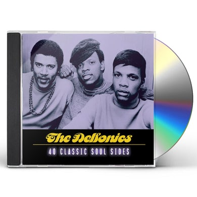 Delfonics 40 CLASSIC SOUL SIDES CD