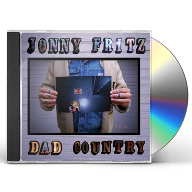 Jonny Fritz DAD COUNTRY CD